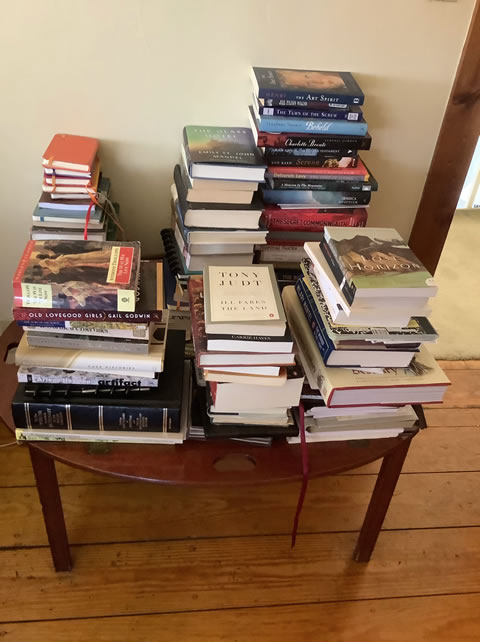 Bedroom reading table